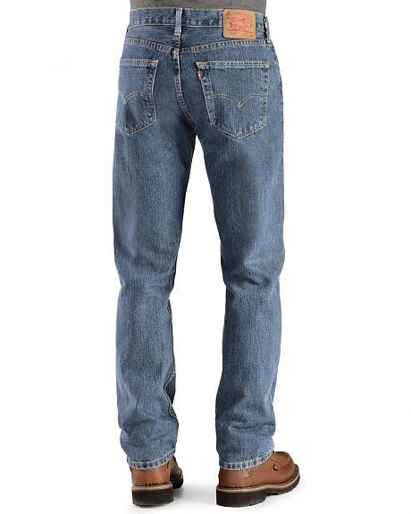 Levi's � 505 Jeans - Prewashed Regular Fit