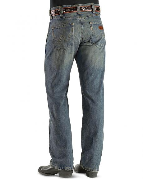 Wrangler Jeans - Antique Denim Retro Relaxed Fit