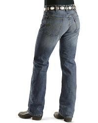 Levi's � 517 � Slim Fit Boot Cut Blue Ice Jeans at Sheplers