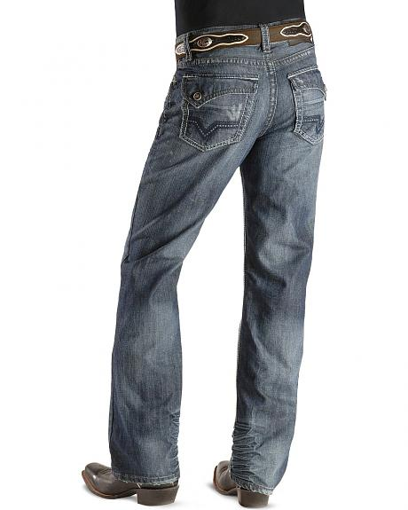 Rock & Roll Cowboy Jeans - Double Barrel Flap Pocket Jeans