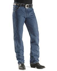 Wrangler Men's 47MWZ Dark Stone Regular Fit Jeans at Sheplers