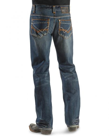 Petrol Jeans - Garrett Regular Fit Straight Leg