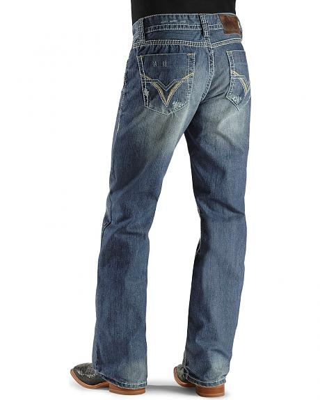 Rock & Roll Cowboy Jeans - Double Barrel Relaxed Boot Cut