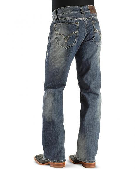Rock & Roll Cowboy Jeans - Double Pistol Relaxed Boot Cut
