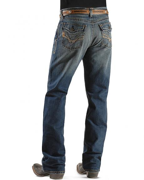 Ariat Denim Jeans - M4 Montana Hawkeye Flap Relaxed Fit