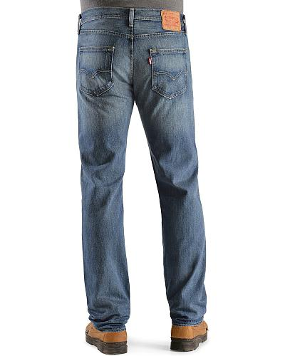 Levis  501 Jeans Rough and Tumbled Original Fit Western & Country 00501-1340