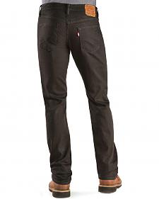 Levi's � 514 Jeans -  Black Slim Fit Straight Leg