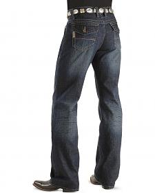 Cinch Trevor Dark Stonewash Flap Pocket Jean