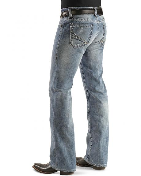 Rock & Roll Cowboy Pistol Heavy Topstitch Jeans