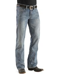 Rock & Roll Cowboy Pistol Heavy Topstitch Jeans at Sheplers