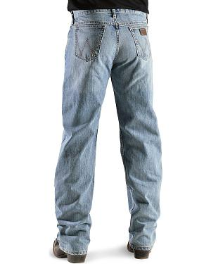 Wrangler Jeans - 20X Competition Laser Blue Denim Relaxed Fit