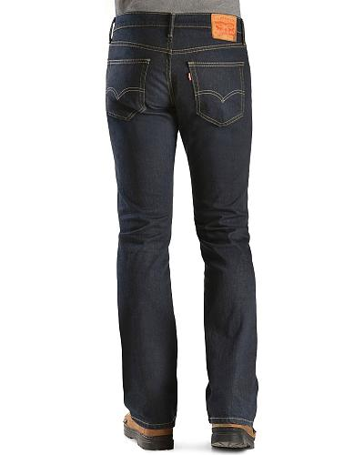 Levis  527 Muse Slim Fit Boot Cut Jeans Western & Country 05527-0419