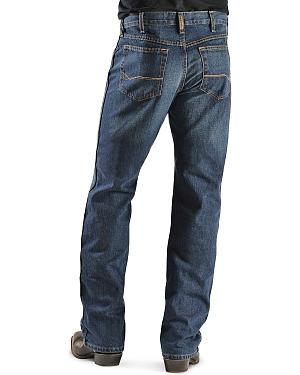 Ariat Denim Jeans - Heritage Dark Stonewash Relaxed Fit
