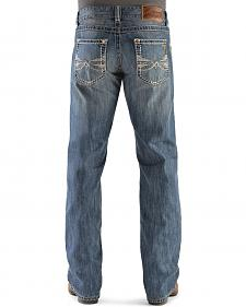 Wrangler Rock 47 Rocker Slim Fit Bootcut Jeans