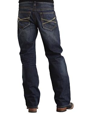 "Stetson Modern Fit Classic ""X"" Stitched Jeans"