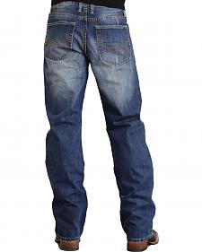 Stetson Modern Fit Classic X Stitched Jeans