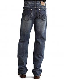 "Stetson Modern Fit Embossed ""X"" Stitched Jeans"
