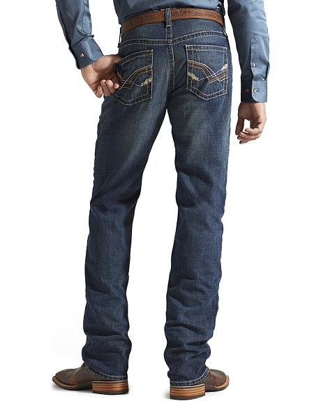 Ariat Denim Jeans - M2 Jagged Storm Relaxed Fit