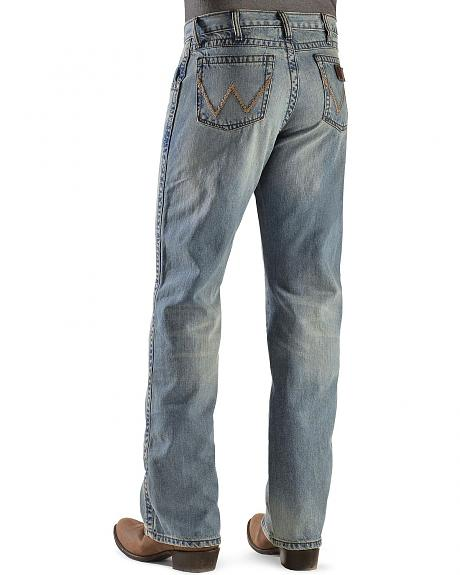 Wrangler Retro 77 Slim Fit Texas Bootcut Jeans
