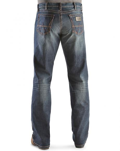 Wrangler Retro Relaxed Fit Weston Stitch Bootcut Jeans