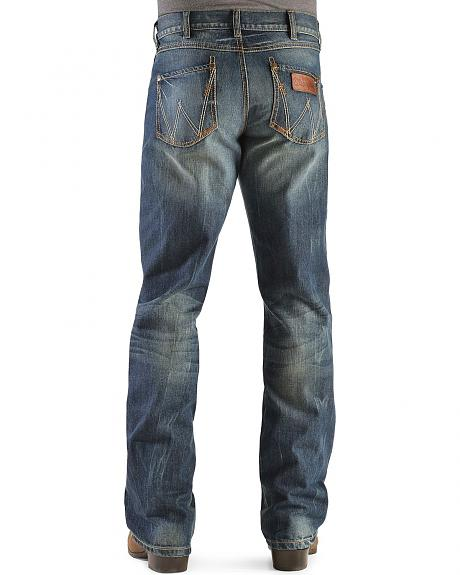 Wrangler Retro Relaxed Fit Dusk Stitch Bootcut Jeans