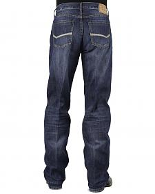 Stetson Modern Fit Bold Stitched Jeans