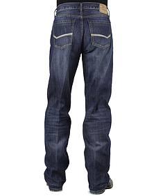 Stetson Modern Fit Bold Stitched Jeans