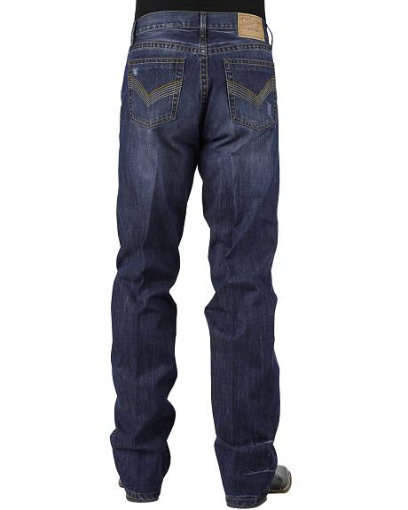 Stetson Modern Fit 1312 Jeans - Low Rise Bootcut