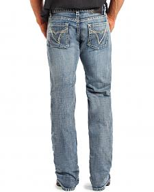 Rock & Roll Cowboy Men's Pistol Regular Fit Straight Leg Jeans