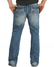 Rock & Roll Cowboy Men's Double Barrel Relaxed Fit Jeans - Boot Cut
