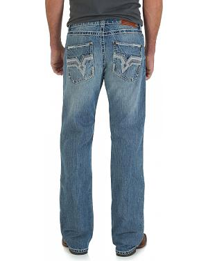 Wrangler Rock 47 Heavy Metal Bootcut Jeans - Slim Fit