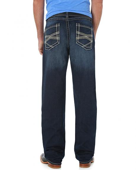 Wrangler 20X Bryson 33 Straight Leg Jeans - Extreme Relaxed Fit
