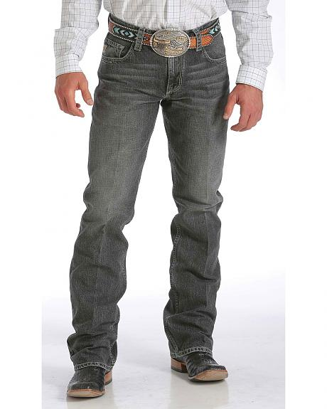 Cinch Carter Relaxed Fit Medium Stonewash Jeans - Boot Cut