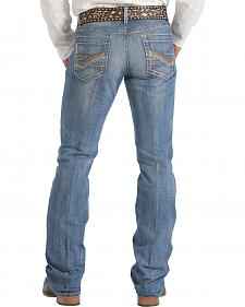 Cinch Ian Medium Stonewash Bootcut Jeans - Slim Fit