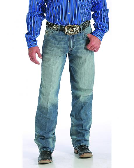 Cinch Men's Sawyer Mid-Rise Loose Bootcut Jeans