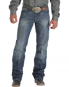 Cinch Grant Dark Stonewash Bootcut Jeans - Relaxed Fit