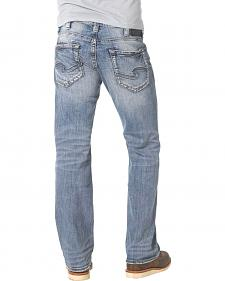 Silver Zac Light Wash Jeans - Relaxed Fit