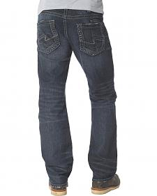 Silver Men's Zac Straight Leg Jeans