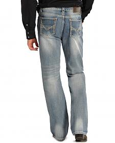 Rock and Roll Cowboy Double Barrel Relaxed Fit Jeans - Straight Leg
