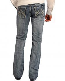 Rock and Roll Cowboy Regular Fit Medium Wash Jeans - Boot Cut