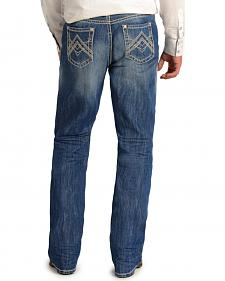 "Rock and Roll Cowboy Double Barrel Relaxed Fit ""A"" Jeans - Straight Leg"