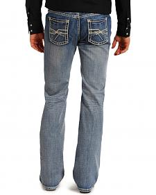 Rock and Roll Cowboy Pistol Medium Wash Jeans - Straight Leg