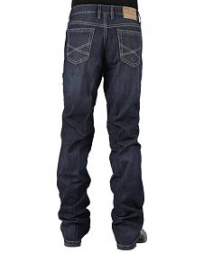 Stetson 1520 Classic Fit With Embroidery Jeans - Boot Cut