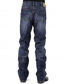 Stetson 1520 Fit Medium Wash Jeans - Relaxed Fit