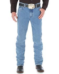 Wrangler Men's Cool Vantage Cowboy Cut 36 Slim Fit Jeans