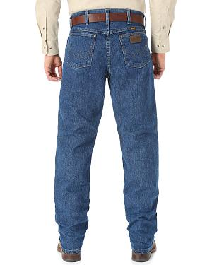 Wrangler Cool Vantage 47 Dark Stonewash Jeans - Regular Fit
