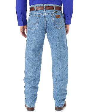 Wrangler Cool Vantage 47 Light Stonewash Jeans - Regular Fit