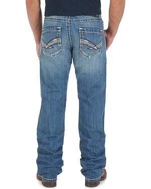 Wrangler Rock 47 Air Guitar Slim Fit Jeans - Boot Cut
