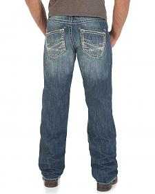 Wrangler Rock 47 Jam Session Slim Fit Jeans - Boot Cut