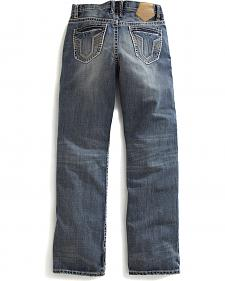 Tin Haul Men's Regular Joe Straight Leg Air Force One Jeans